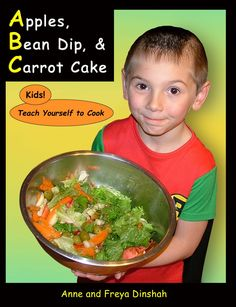 New review of a vegan cookbook written for kids! With 4 levels, this cookbook is perfect for kids of all ages who want to get in the kitchen to prepare healthy, tasty vegan food. Click through for Jennifer's review on Vegbooks.org: http://vegbooks.org/index.php/2015/01/31/apples-bean-dip-and-carrot-cake/ #vegankids