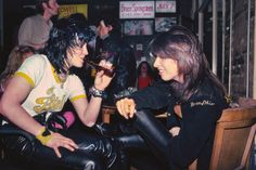 Joan Jett and Chrissie Hynde, 1981