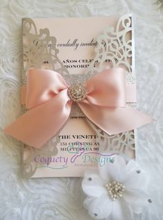 Items similar to Beautiful invitation ideal for Sweetsixteen/Weddigs/Quinceañeras/Baptism/Bautizos on Etsy Quinceanera Planning, Quinceanera Invitations, Baptism Invitations, Pink Invitations, Elegant Invitations, Invitation Design, Wedding Invitations, Custom Wine Labels, Coral