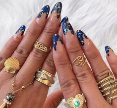Here is the very best nail art inspiration now trending to inspire your next manicure . - Here is the very best nail art inspiration now trending to inspire your next manicure best - Evil Eye Nails, Nail Techniques, Funky Nails, Crazy Nails, Crazy Nail Art, Edgy Nails, Grunge Nails, Fire Nails, Rock Nails
