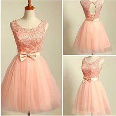 2015 Prom Dresses, Tulle Prom Dress