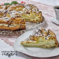 100de100 Marifet: Profiterol Hamuru ile Yapılan Farklı Pasta Tarifi-...