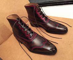Caulaincourt shoes - Nomad - crazy red lines