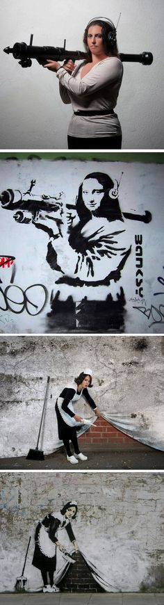 Banksy for real