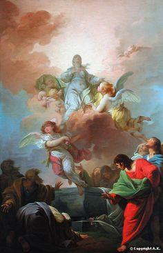 François-André Vincent - The Assumption of the Virgin Mary