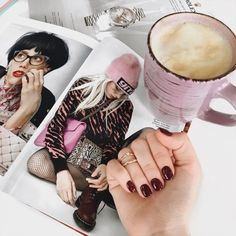 Image uploaded by Katerina. Find images and videos about coffee on We Heart It - the app to get lost in what you love. Flat Lay Photography, Coffee Photography, Image Photography, Girl Photography, Lifestyle Photography, Ideas For Instagram Photos, Photo Instagram, Flat Lay Inspiration, Nail Room