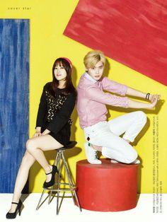 Lee jong suk and park bo young ❤❤