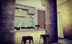 Kitchen #1 at Sims4 Luxury via Sims 4 Updates