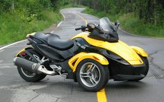 Can-Am Spyder. Just traded mine in. Loved the bike, hated that I had to park it 8 months out of the year.