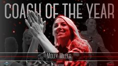 BREAKING: Molly Miller has been voted the GLVC's Chuck Mallander Coach of the Year after guiding the No. 1 to an undefeated season. It is the first time Miller has earned the award in her career. Coach Of The Year, Panthers, Athletics, Career, Seasons, Lady, Movie Posters, Carrera, Panther
