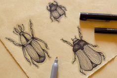 Bugsket by Camilla Mendini, via Behance