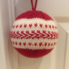 Ravelry: Christmas Ball pattern by Lavander