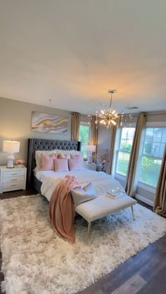 Glam Bedroom, Room Ideas Bedroom, Diy Bedroom Decor, Home Decor, Luxury Interior Design, Modern Interior, Apartment Decoration, Beige Living Rooms, Best Decor