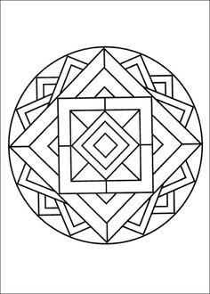 Målarbilder Mandalas 59