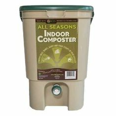 All Seasons Indoor Composter - Tan by SCD Probiotics. $44.94. Prepares scraps for burial in less than half the time than conventional composting method. Compact design for easy storage. 5 Gallon Bucket. Perfect for kitchens, apartments, schools etc.. No foul orders due to anaerobic fermentation process. The All Seasons Indoor ComposterTM is a unique indoor product used to recycle kitchen waste into an organic compost soil conditioner. The most effective method of...