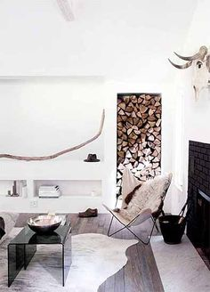 Let It Snow! 6 Decorating Ideas For a Chic Ski Home via @MyDomaine