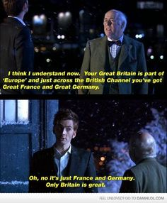 Sorry to non Brits but this just made me laugh :)