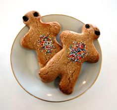 Gingerbread men are one of our most popular treats!
