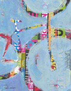 "Messenger by Shelli Walters | $250 | 11""w x 14""h | Original Art | http://www.vangoart.co/buy/art/messenger @VangoArt"