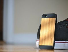 Bamboo Wood IPhone Fifty Fifty Case  650x499 Daily Gadget Inspiration #24