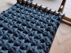 PUNTOBOBO punto tunecino Más Más Beanie Pattern Free, Crochet Beanie Pattern, Knit Crochet, Tunisian Crochet Patterns, Knitting Patterns, Loom Knitting, Knitting Stitches, Crochet Crafts, Crochet Projects