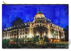 Carry-All Pouch - Le Negresco Hotel In Nice France