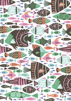 """""""Fishy Business"""" by Poppy & Red"""
