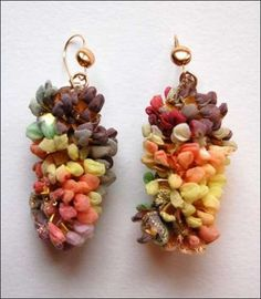 Elinor Voytal Knit Jewelry Collection Crocheted Accessories
