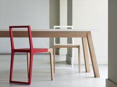Esstisch aus massivem Holz STANDARD by Branca-Lisboa | Design Marco Sousa Santos