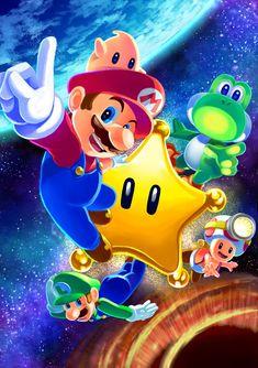 """The beginning of a new adventure! Super Mario Games, Super Mario Art, Super Mario World, Yoshi, Nintendo Characters, Video Game Characters, Nintendo Games, Mario Kart, Donkey Kong"