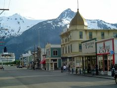 Skagway, Alaska - on the way to the Klondike.