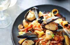 Mediterrane mosselstoofpot - Recepten - Mosselen kunnen altijd!