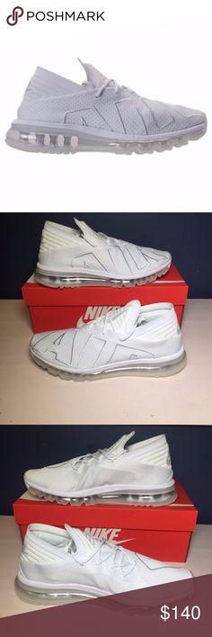 huge discount c57b0 cb12b Nike Air Max Flair White Pure Platinum 942236-100 Nike Air Max Flair White  Pure