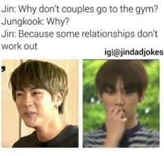 I actually like jins dad jokes