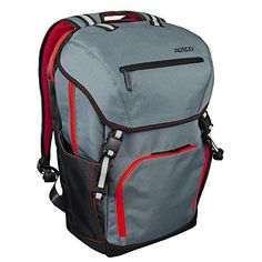 Altego Polygon Scarlet Red  Laptop Backpack 17 Inch  Rucksack Bag for School College Commute or World Travel >>> Find out more about the great product at the image link.