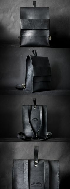 "Mifland Concept 1 Rucksack ""If you do not put Our Lord to the first row in your heart, you will both lose Him and the ones whom you put to the first row. My Bags, Purses And Bags, Leather Projects, Leather Design, Leather Accessories, Beautiful Bags, Leather Working, Backpack Bags, Duffle Bags"