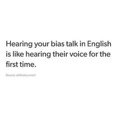 Depends on which bias but ya so true