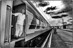 """Please stop by to read my Flash! Friday entry, the dark """"Long Train Running Away"""""""