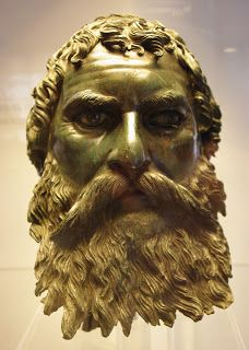 A Thracian king, from the 4th cent.B.C.. Sofia Museum,Bulgaria