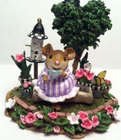 A Sip of Tea by Wee Forest Folk®