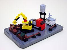 Lego. Micro building site