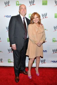 Caroline Manzo (In her Yanina and Co.) and Albert at WWE Superstars For Sandy Relief Caroline Manzo, Reality Tv Stars, Real Housewives, Wwe Superstars, Tv Shows, Celebrities, Jewels, Earrings, Ear Rings