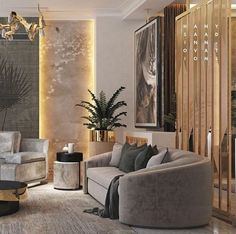 The Rise of Making Your Living Room Look and Feel More Luxurious homeuntold is part of Luxury living room design - Elegant Home Decor, Luxury Living Room, Room Design, Chandelier In Living Room, Luxury Living Room Design, Luxury Furniture, Luxury Living, Elegant Living Room, Luxury Interior