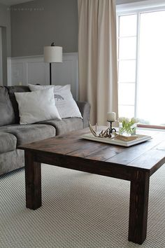 Coffee table decorating ideas can turn that cluttered tabletop into a design feature to be proud of. With the right decor, a coffee table can be a key design element in your living room design. Enjoy the best designs for Living Room Furniture, Home Furniture, Furniture Design, Furniture Ideas, Decorating Coffee Tables, Coffee Table Design, Living Room Modern, Living Room Designs, Wood Home Decor