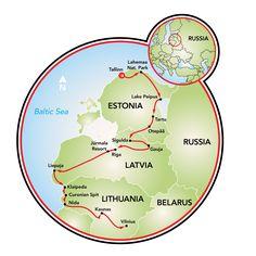 Cycling in the Baltics Bike Tour - Estonia - Latvia - Lithuania | Tripsite