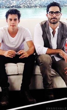 Dylan and Tyler at Comic Con 14