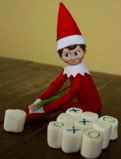 Elf on a shelf idea