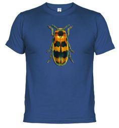 Camiseta con escarabajo.