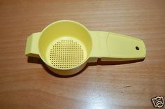 Tupperware Sifter or Strainer, #879, Yellow for USD3.95 #Collectibles #Kitchen #Home #Tupperware  Like the Tupperware Sifter or Strainer, #879, Yellow? Get it at USD3.95!