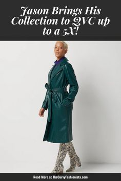 Listen! The whole range will be available up through a size 5X/32. Even more impressive? Petite Plus in bottoms! Jason Wu Launches J Jason Wu with QVC up to a 5X! #plussizefashion #plussize Plus Size Fall Fashion, Autumn Fashion, Plus Size Dresses, Plus Size Outfits, Plus Size Coats, Plus Size Designers, Jason Wu, Edgy Outfits, Qvc